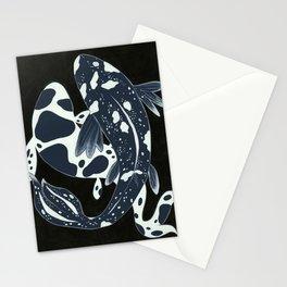 Starry Night Koi Stationery Cards