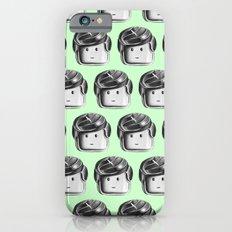 Minifigure Pattern – Mint iPhone 6s Slim Case