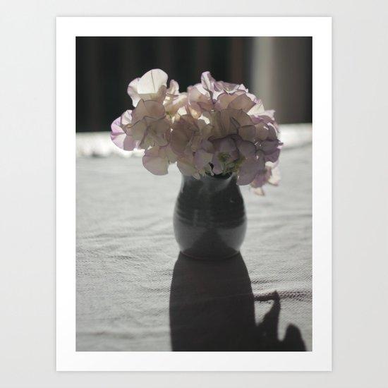 Little Jug of Flowers Art Print