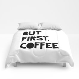 But First, Coffee Comforters