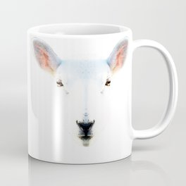 The White Sheep By Sharon Cummings Coffee Mug