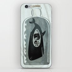 Whale in a Bottle | Treasure and Skull iPhone & iPod Skin