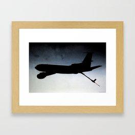 KC-135 Large Shadow  Framed Art Print