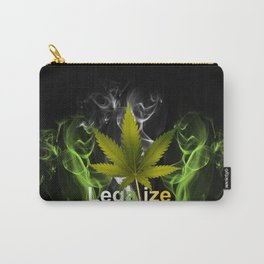 Legalize Marijuana Carry-All Pouch