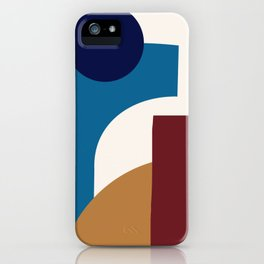 Blue turtle iPhone Case