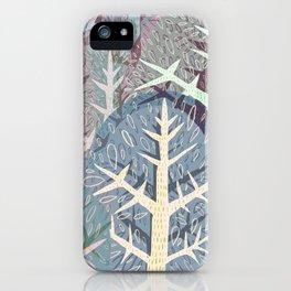 SAMMAL design - frozen green forest iPhone Case