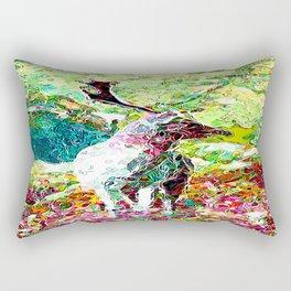 Dream Stag Rectangular Pillow