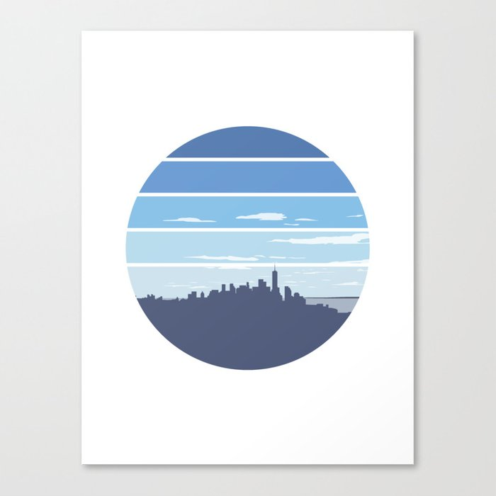 New York in the Spring Canvas Print