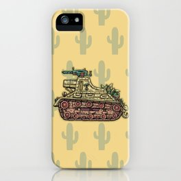 African desert corps tank WWII iPhone Case