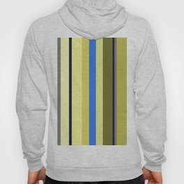 Blue and Moss Stripes Hoody