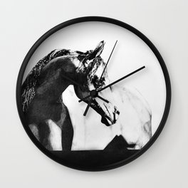 The point of knowing how to draw a horse Wall Clock