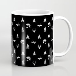 CAMPING (black) Coffee Mug