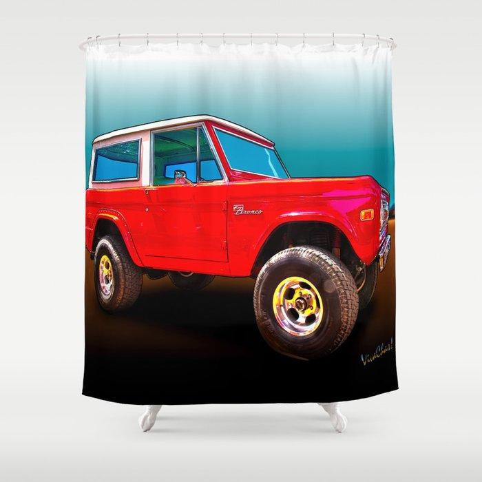 Fantastic Hot Rod Shower Curtain Contemporary - Bathtub for ...