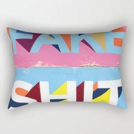 FAKE SHIT Rectangular Pillow