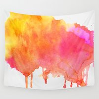 splash Wall Tapestries featuring Splash #society6 #buyart #decor by 83 Oranges™