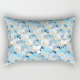 Beach Box Rectangular Pillow