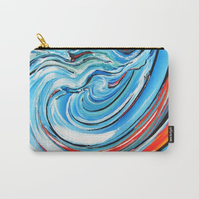 Aujourd'hui je surf Carry-All Pouch