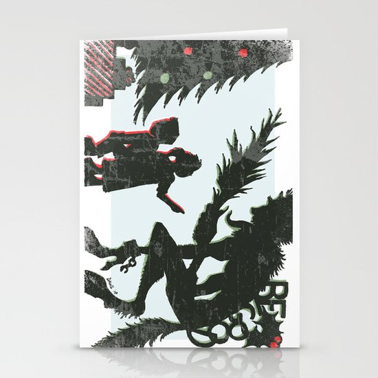 Be Good Krampus Stationery Cards