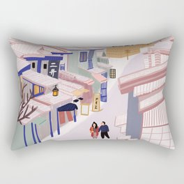 Old Town Kyoto Rectangular Pillow