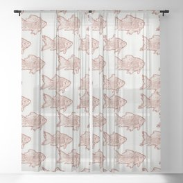 Goldfish Sheer Curtain