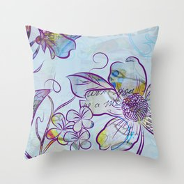 Merry Marsh Marigold Throw Pillow