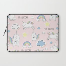 I'm a Unicorn - light pink Laptop Sleeve