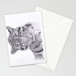 Clouded Leopard - Big Cat Stationery Cards