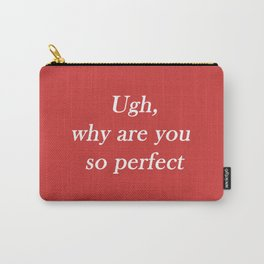 ugh: red Carry-All Pouch