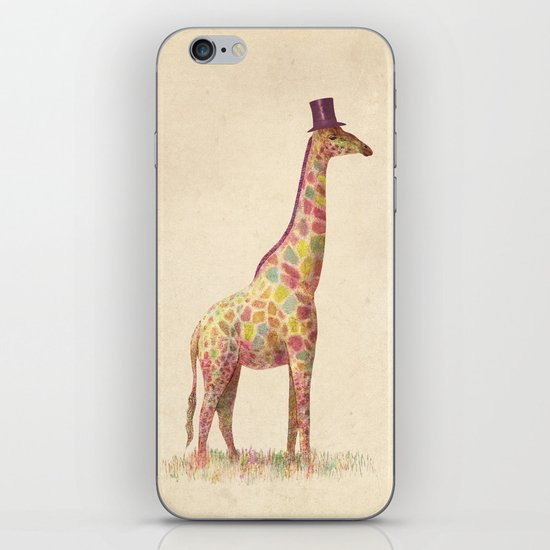 Fashionable Giraffe iPhone & iPod Skin