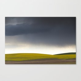 Rain's Coming Canvas Print