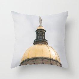 Georgia State Capitol 02 Throw Pillow