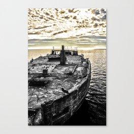Forgotten Ship Canvas Print