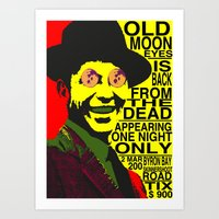 old moon eyes Art Print