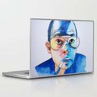fear and loathing Laptop & iPad Skins featuring Fear and Loathing in Las Vegas by Cyanide Art