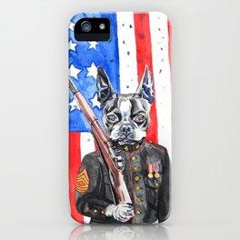 Sarge iPhone Case