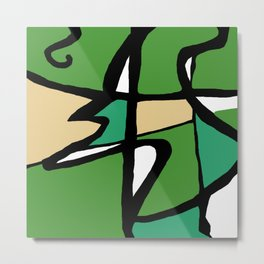 Abstract Painting Design - 8 Metal Print