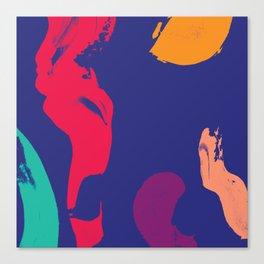 five senses Canvas Print