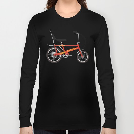 Chopper Bike Long Sleeve T-shirt
