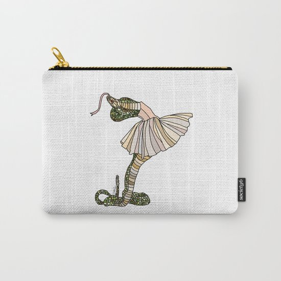 Snake Ballerina Tutu Carry-All Pouch