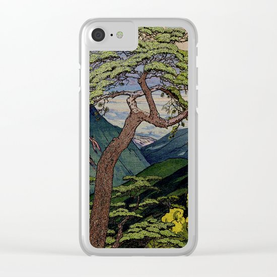 The Downwards Climbing Clear iPhone Case