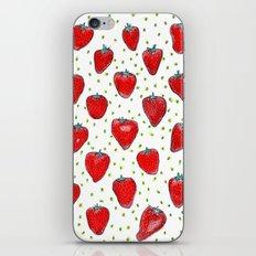 Strawberries Celebration iPhone & iPod Skin