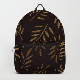 Golden leaves Backpack