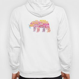 Bear in Different Languages Hoody