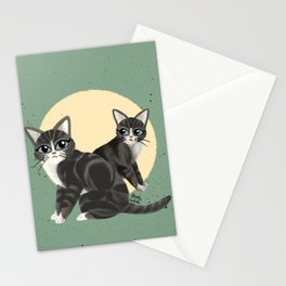 Lovely kitties Stationery Cards