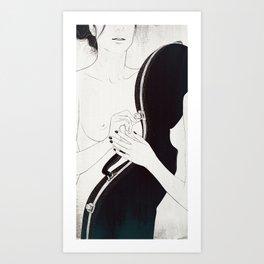 Duet. Pt.1 Art Print