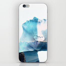 double exposure Face iPhone Skin