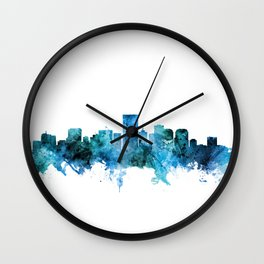 Richmond Virginia Skyline Wall Clock