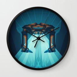 A Digital Frontier Wall Clock