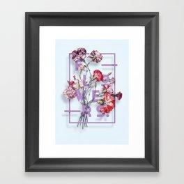 Flowers Bloom Botanicals Vintage Illustration Poster #3 Framed Art Print