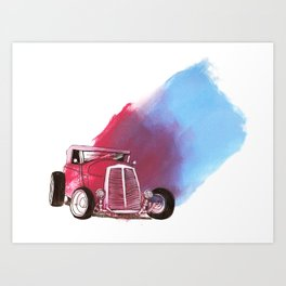 Rat Rod Art Print